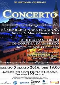 Concerto Cortina 5 Marzo 2016